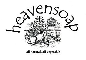 heavensoap logo, representing our natural herbal products